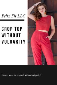 crop top without vulgarity